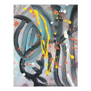 No. 202 Original Abstract Painting On Canvas