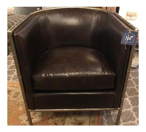 Bernhardt Leather Meredith Chair