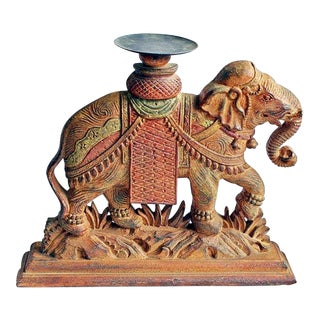 Decorative Indian Elephant Candleholder