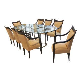 John Hutton for Donghia Dining Room Chairs & Table - Set of 8