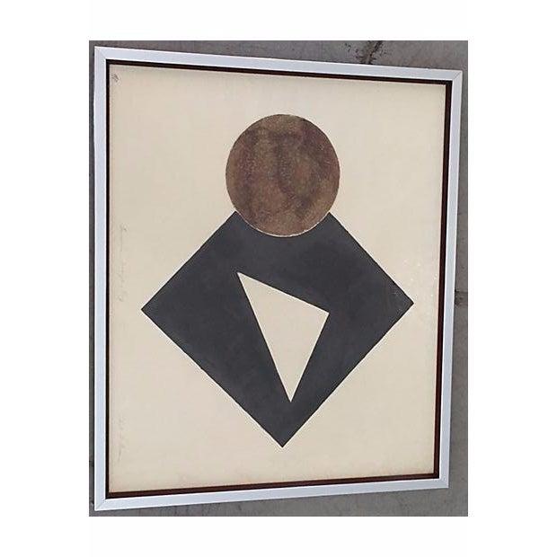 S. Green Mid-Century Modern Artist Proof Serigraph - Image 3 of 7