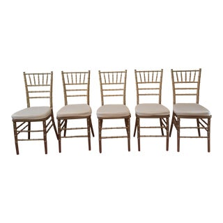 Set of 5 Chiaviri Stacking Ballroom Chairs