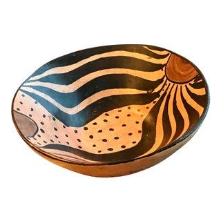 Handmade African Wooden Bowl