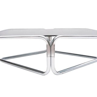 Mid Century Coffee Table Chrome Jerry Johnson