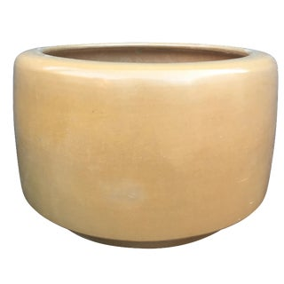 Architectural Pottery Medium Gold Planter