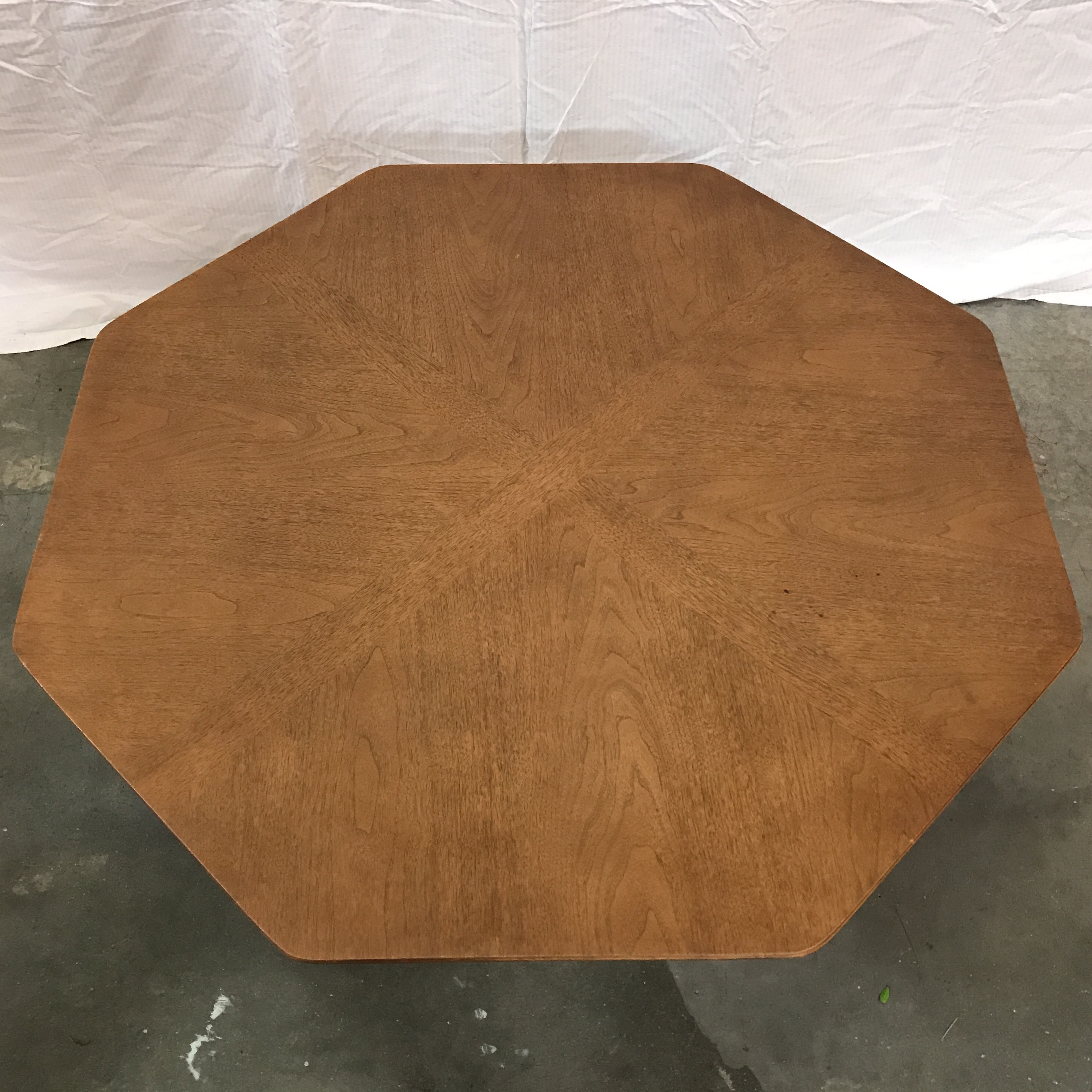 midcentury octagon coffee table image 3 of 7