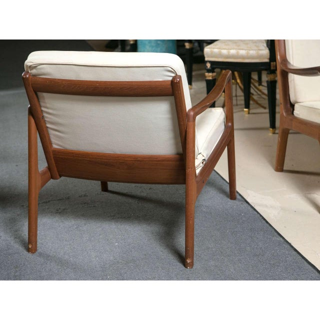 Ole Wanscher Teak Lounge Chair for John Stuart - Image 6 of 9