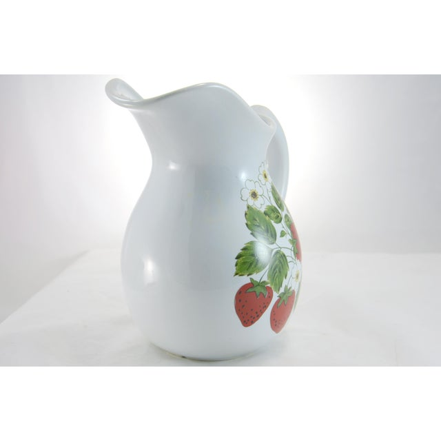 McCoy Strawberry Farmhouse Vase - Image 5 of 6