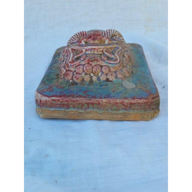 Image of Chinese Salvaged Gargoyle Wall Tile