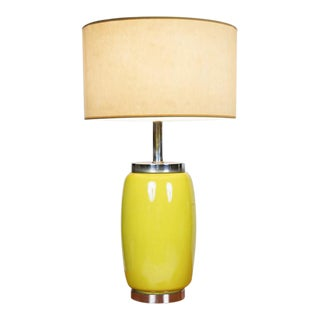 Vintage Ceramic Table Lamp and Shade