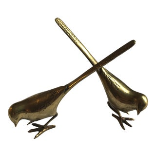 Brass Birds - A Pair
