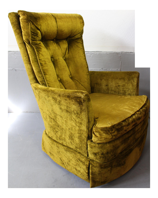kroehler high back swivel rocker chair - Swivel Rocker Chair