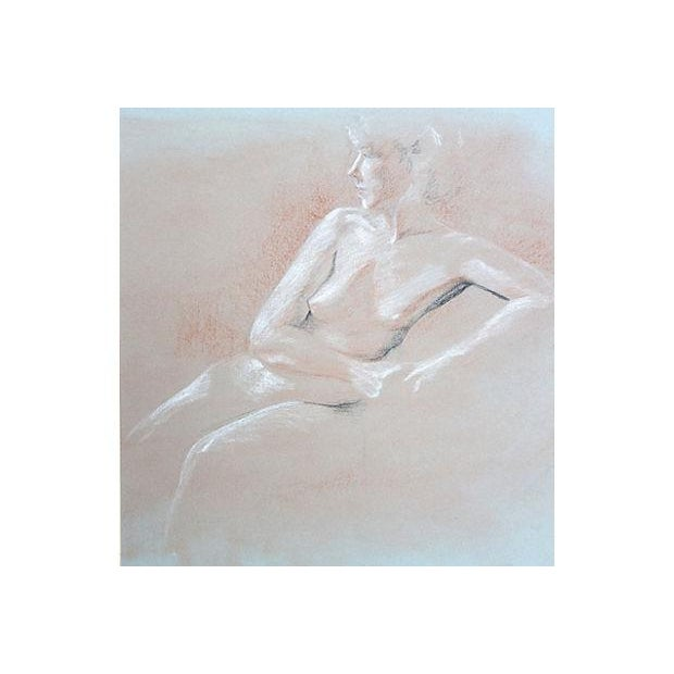 Image of Nude Pastel Drawing by Pat Cantor
