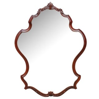Cherry Carved Mirror