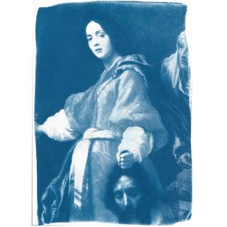 Cyanotype Print - Allori Painting of Judit