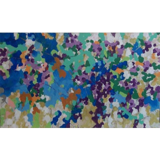 'Cherry Blossoms III' Acrylic on Canvas Painting