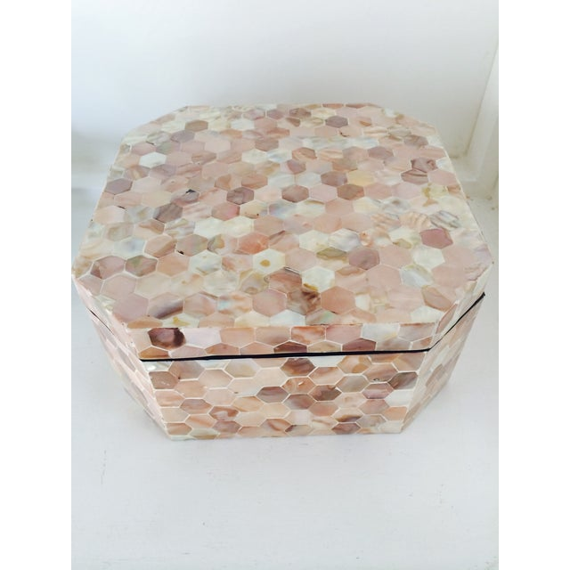 Mother of Pearl Tiled Box - Image 2 of 8