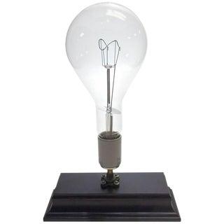 Huge Sylvania Motion Picture Studio Cinema Lamp Mounted as Sculpture. Circa Mid 20th Century.