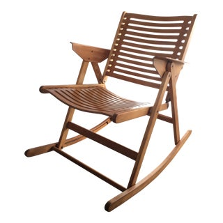 Niko Kralj Vintage Rex Folding Rocking Chair
