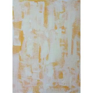 "Susie Kate ""Abstract on Orange"" Original Painting"