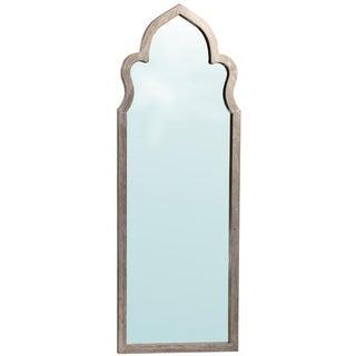 Moorish Arched Wooden Mirror