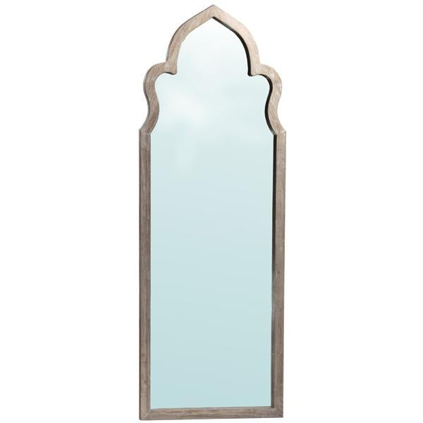 Image of Moorish Arched Wooden Mirror