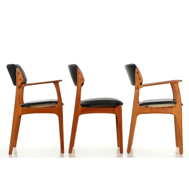 Erik Buch Danish Model 49 Dining Chairs - Set of 10 - Image 8 of 11