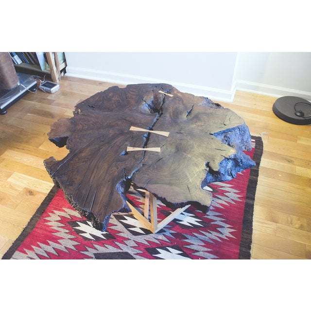 Image of Black Walnut Root Burl Coffee Table