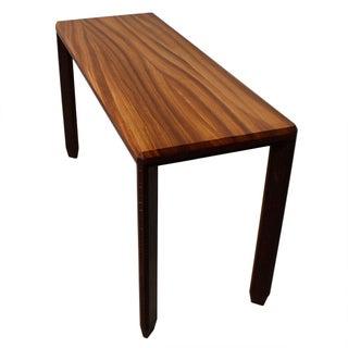 Exotic Wood Designer Console / Sofa Table