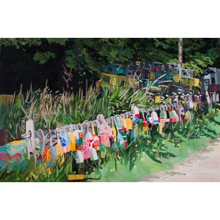 """Josh Moulton """"Idle Buoys"""" Giclee Print After a Painting"""