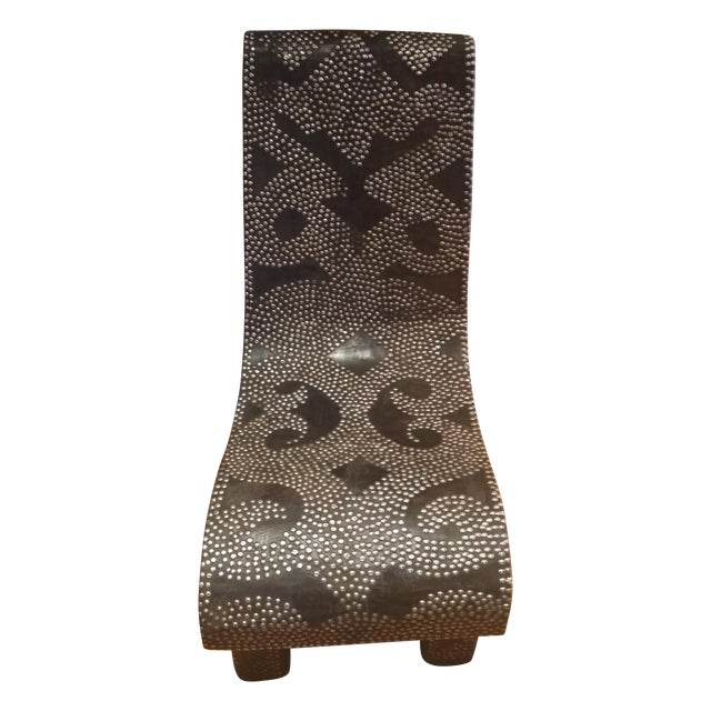 African Accent Chair - Image 1 of 6