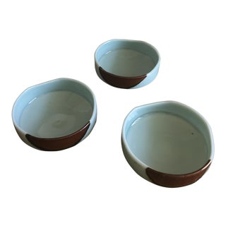 Handmade Ceramic Serving Bowls - Set of 3
