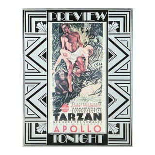 1932 Offset Lithograph Tarzan Movie Poster by Atelier Konig Weninger