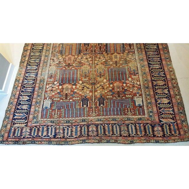 Antique Islamic Heriz Persian Rug - 9′ × 12′ - Image 4 of 10