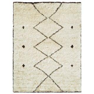 "Moroccan Wool Area Rug - 7'10"" X 10'2"""