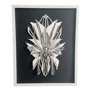 Gevan Wgnr Black & White Fine Art Collage