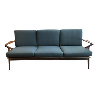 Poul Jensen for Selig Mid-Century Modern Z Sofa
