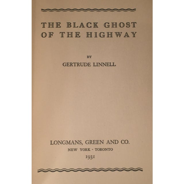 """The Black Ghost of the Highway"" by Gertrude Linnell - Image 3 of 4"