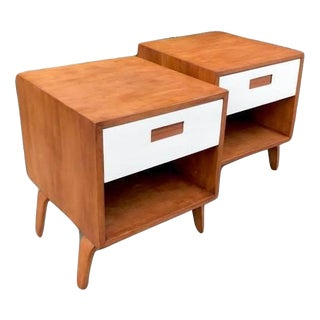 Mid-Centuy Clifford Pascoe Nightstands - a Pair