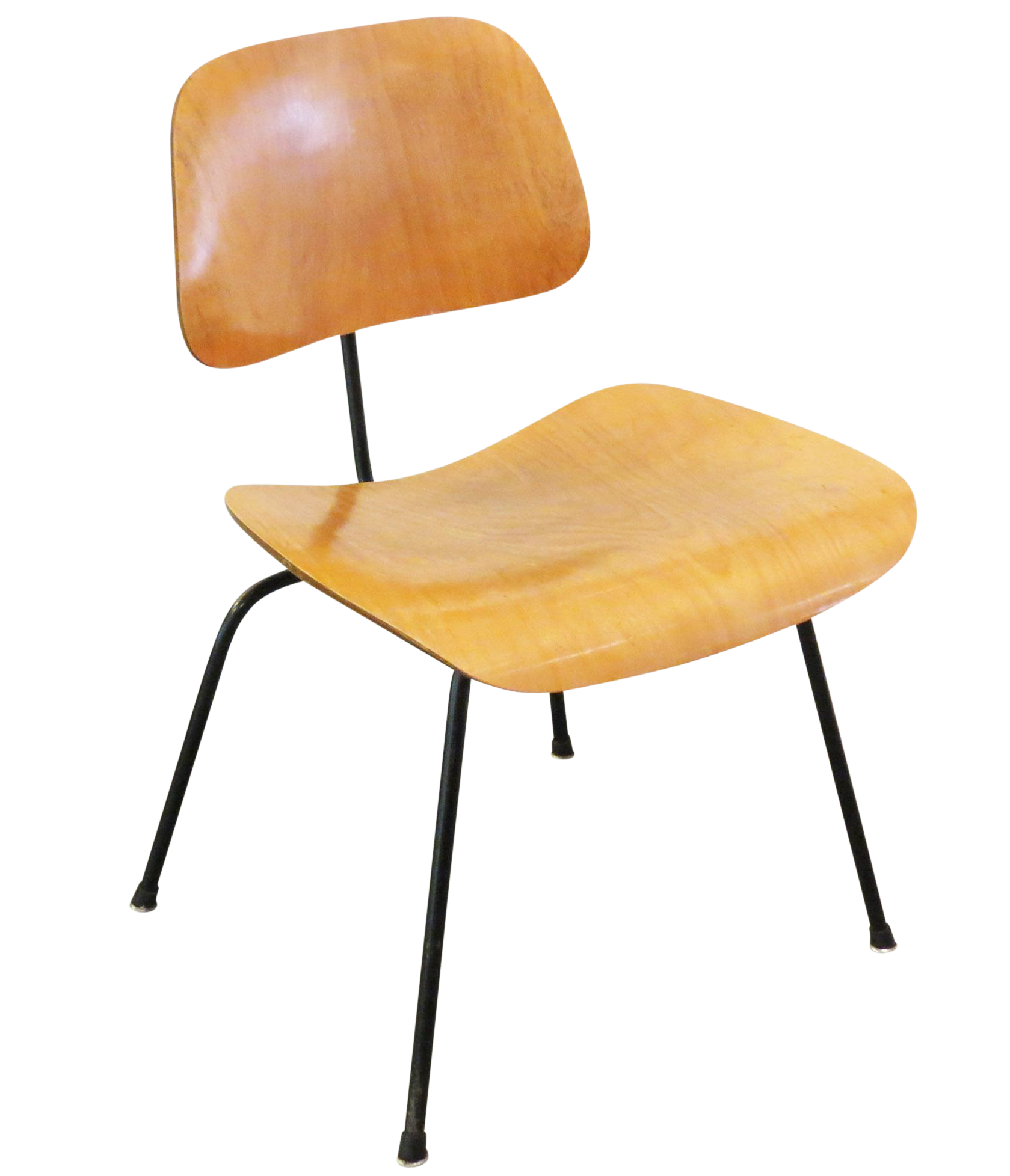 vintage eames molded plywood dining chair chairish