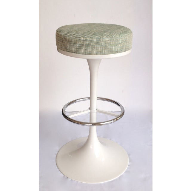 Tulip Bar Stool In Style Of Eero Saarinen Knoll Chairish