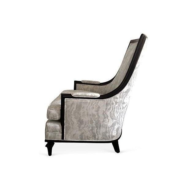 Baker Attri. Vintage 1956 High-Back Club Chair - Image 4 of 8