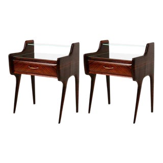 Pair of Italian Nightstands After Ico Parisi