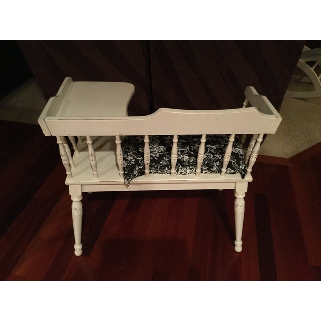 Vintage Phone Bench - Image 7 of 7