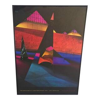 Barbara Kasten Framed MOCA Poster