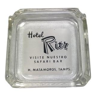 Vintage Hotel Ritz Ashtray