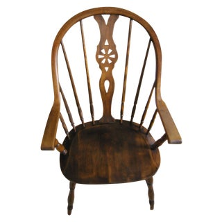 Bentwood Wheelback Arm Chair