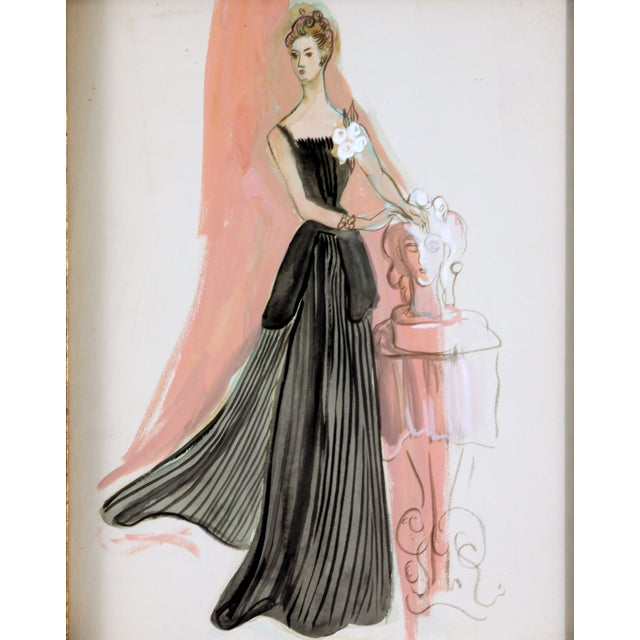 Evening Wear in Black - Image 2 of 4