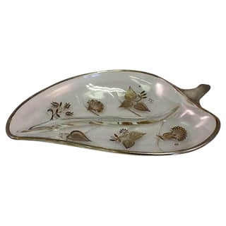 Georges Briard Mid-Century Aspen Leaf Dish