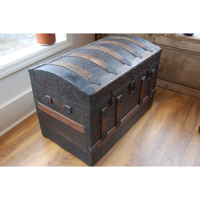 Antique 1800's Trunk - Image 3 of 7